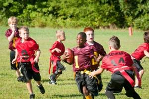 Esporte coletivo é interação.